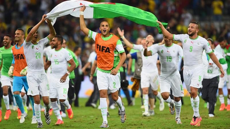 Argelia se clasificó por primera vez a octavos de final en 2014