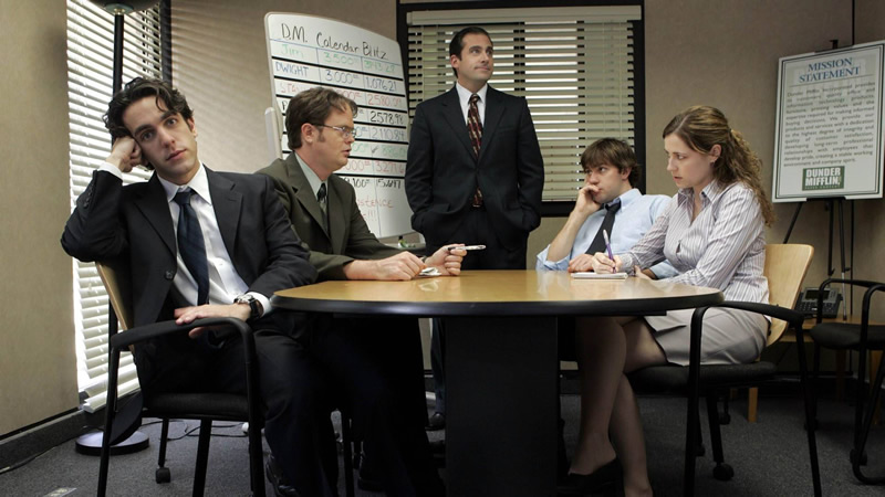 7 recomendaciones de series de TV sobre la vida en la oficina