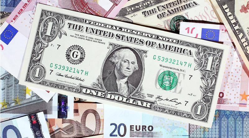 Dinero Efectivo Euros Dólares